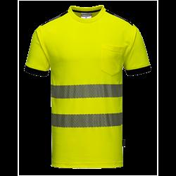 T-Shirt ostrzegawczy Vision