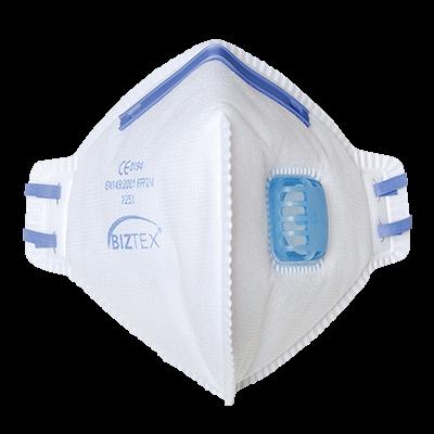 Półmaska FFP2 składana na płasko z zaworkiem