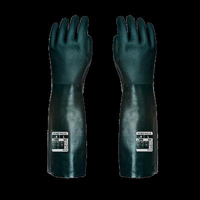 Rękawica pokryta podwójną warstwą PVC 45 cm