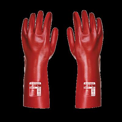 Rękawice PCV