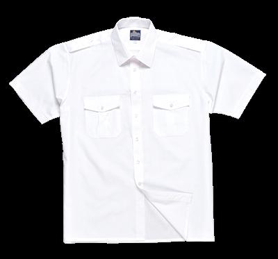 S101 Koszula Pilot z krótkim rękawem