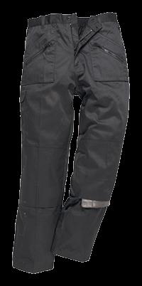 Spodnie bojówki Action z podszewką